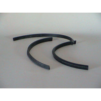 thumb-Rubber joint (U shaped) between headlight glas cover and front (L 350)-Europe Citroën SM-1