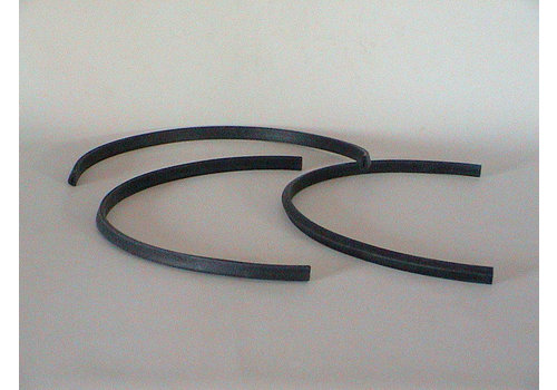 Rubber joint (U shaped) between glas cover of licence plate and front (L 550)-Europe Citroën SM