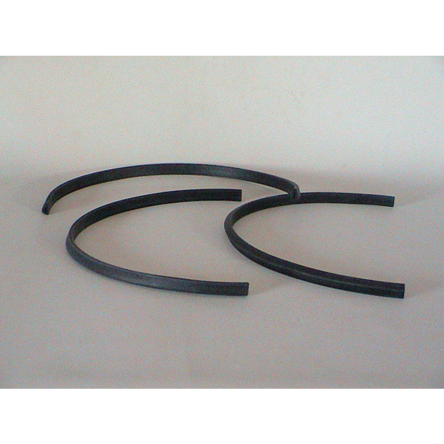 Rubber joint (U shaped) between glas cover of licence plate and front (L 550)-Europe Citroën SM-2
