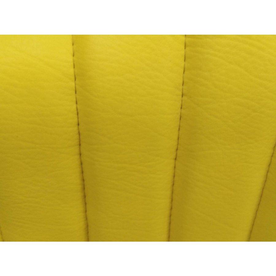 Housse d'origine en simili jaune `Banane` pour siège AV MEHARI Citroën 2CV-2