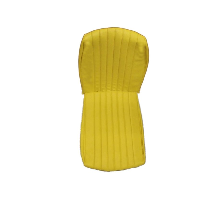 Original seat cover for front seat in `Banana` yellow leatherette Mehari Citroën 2CV-5