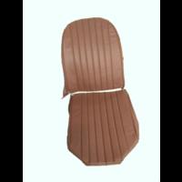 thumb-Voorstoelhoes bruin skai LV 2 ronde hoeken Citroën 2CV-1