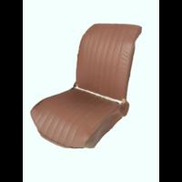 thumb-Original Sitzbezug Vordersitz L braun Kunstleder (Rückenlehne mit 2 abgerundeten Ecken) Dyane Citroën 2CV-4