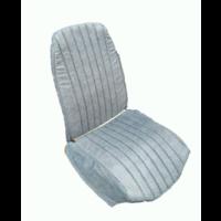 thumb-Voorstoelhoes blauw denim skai RV 2 ronde hoeken Citroën 2CV-8