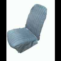 thumb-Original Sitzbezug Vordersitz links blau denim Kunstleder (Rückenlehne mit 2 abgerundeten Ecken) Dyane Citroën 2CV-4