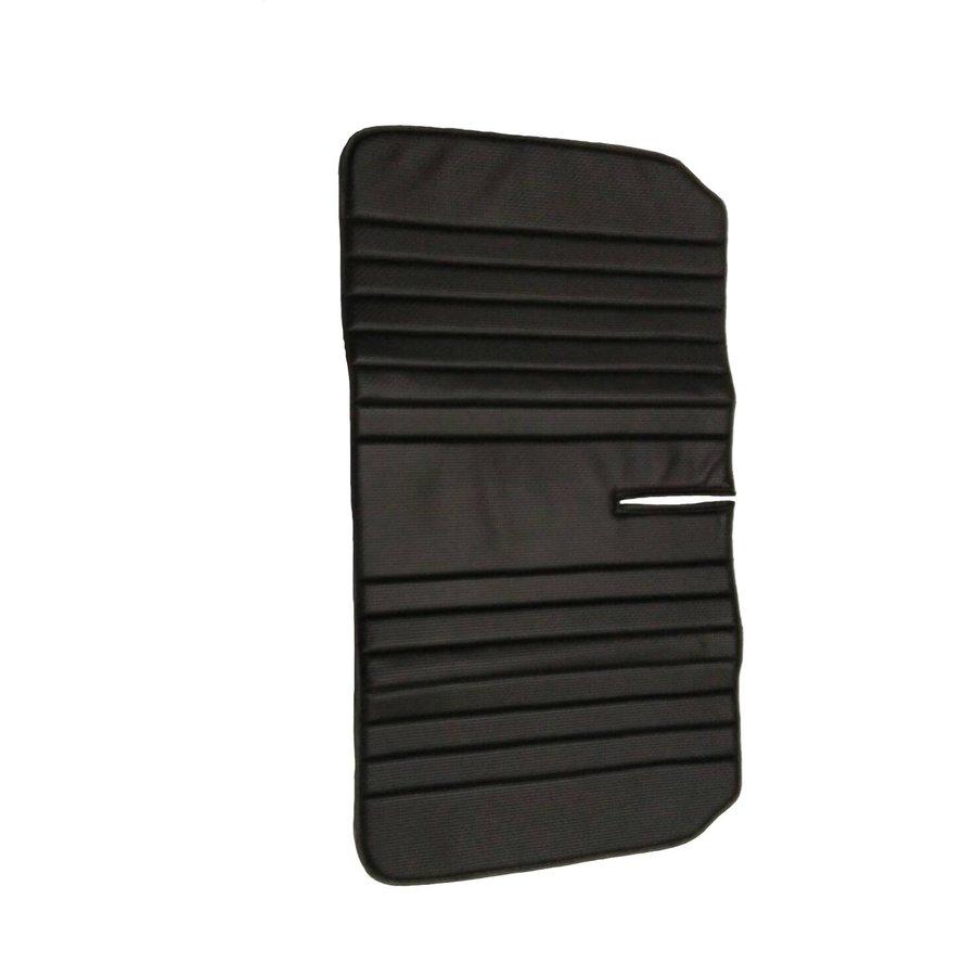 Original seat cover set for rear bench in black leatherette Dyane Citroën 2CV-8