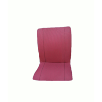 thumb-Original seat cover set for seat in red striped cloth (Exact Copie of the Original Cloth!) years '50 '60 Citroën 2CV-2