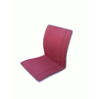 thumb-Original seat cover set for seat in red striped cloth (Exact Copie of the Original Cloth!) years '50 '60 Citroën 2CV-4