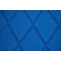 thumb-Hoes set voorstoel R (2 afgeronde hoecken) blauw stof Charleston Citroën 2CV-8