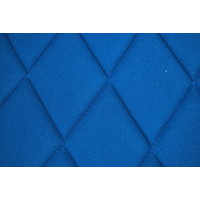 thumb-Seat cover set for front R seat (2 round angles) in blue cloth Charleston Citroën 2CV-8