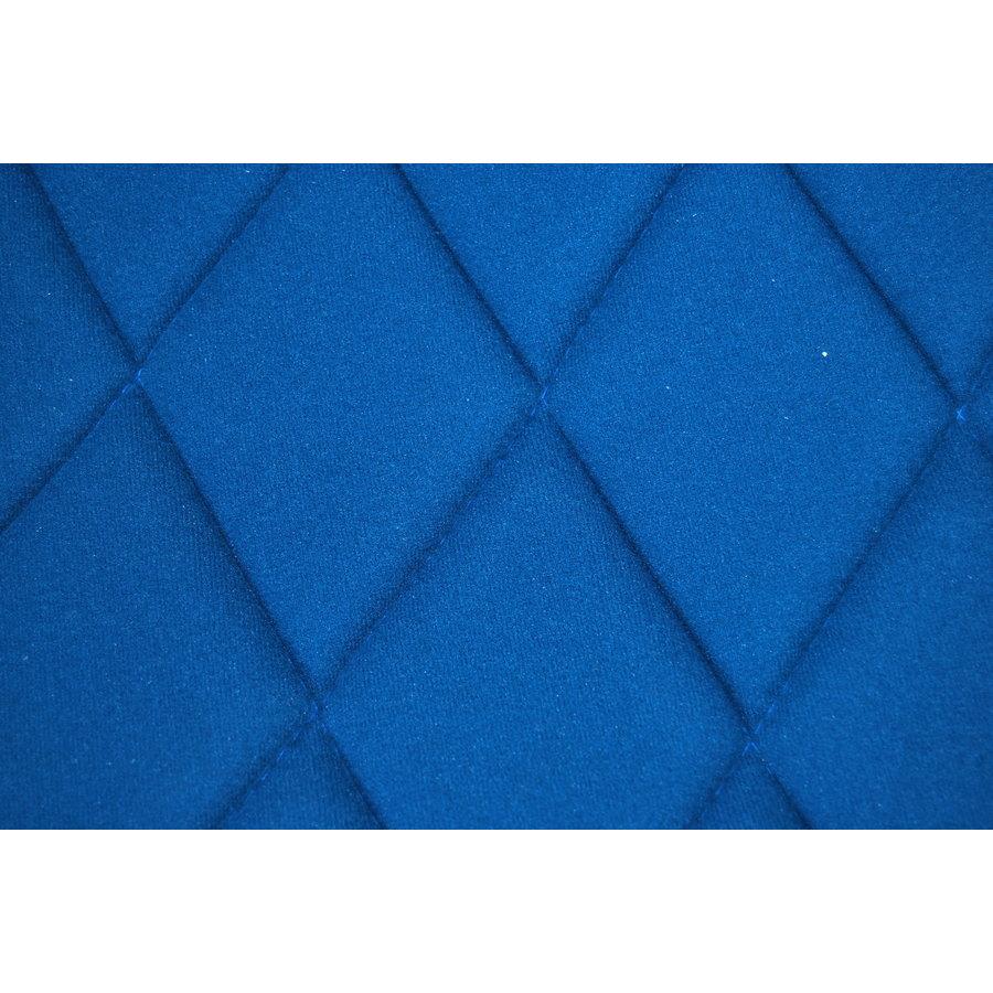 Hoes set voorstoel R (2 afgeronde hoecken) blauw stof Charleston Citroën 2CV-8