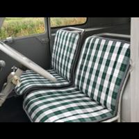 thumb-Original Sitzbezug Sitz Stoff grün Raute (Exakte Kopie von Original Schottenkaro) Jahre '50'60 Citroën 2CV-1