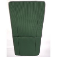 thumb-Original seat cover set for seat in green striped cloth (Exact Copie of the Original Cloth!) years '50 '60 Citroën 2CV-1