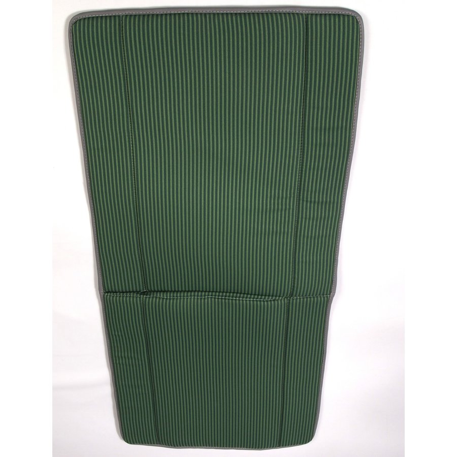 Original seat cover set for seat in green striped cloth (Exact Copie of the Original Cloth!) years '50 '60 Citroën 2CV-1