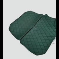 thumb-Original seat cover set for rear bench in green cloth Charleston Citroën 2CV-2
