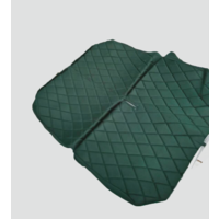 thumb-Originele hoes set achterbank groene stof Charleston Citroën 2CV-2