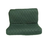 thumb-Originele hoes set achterbank groene stof Charleston Citroën 2CV-4