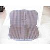 2CV Original seat cover set for rear bench gray cloth used in last produced Citroën 2CV