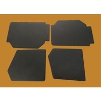 thumb-1 Satz Türverkleidungen [4] schwarz Kunstleder (Modell ohne Beschichtung) Citroën 2CV-3