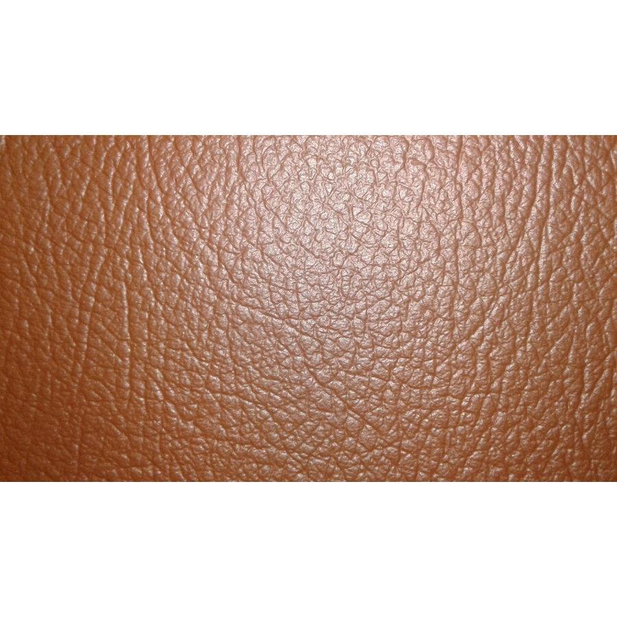 Trimming for rear window shelf brown leatherette Citroën 2CV-4