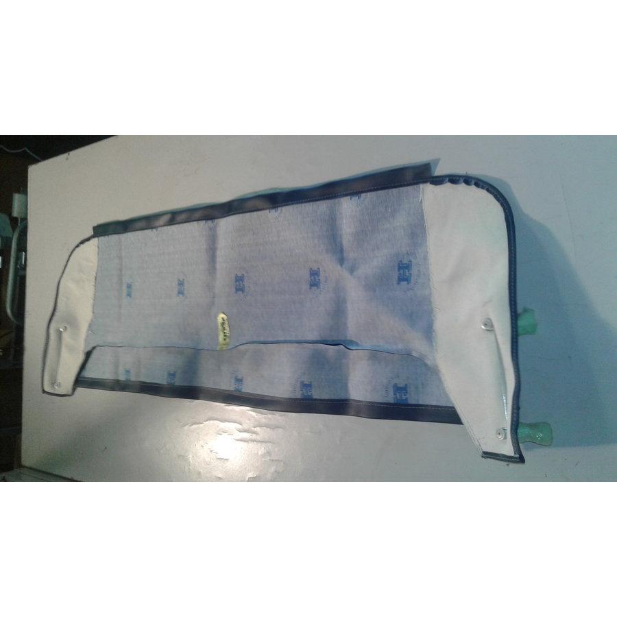 Garniture de tablette de lunette AR en simili bleu foncé (Transat/France 3) Citroën 2CV-3