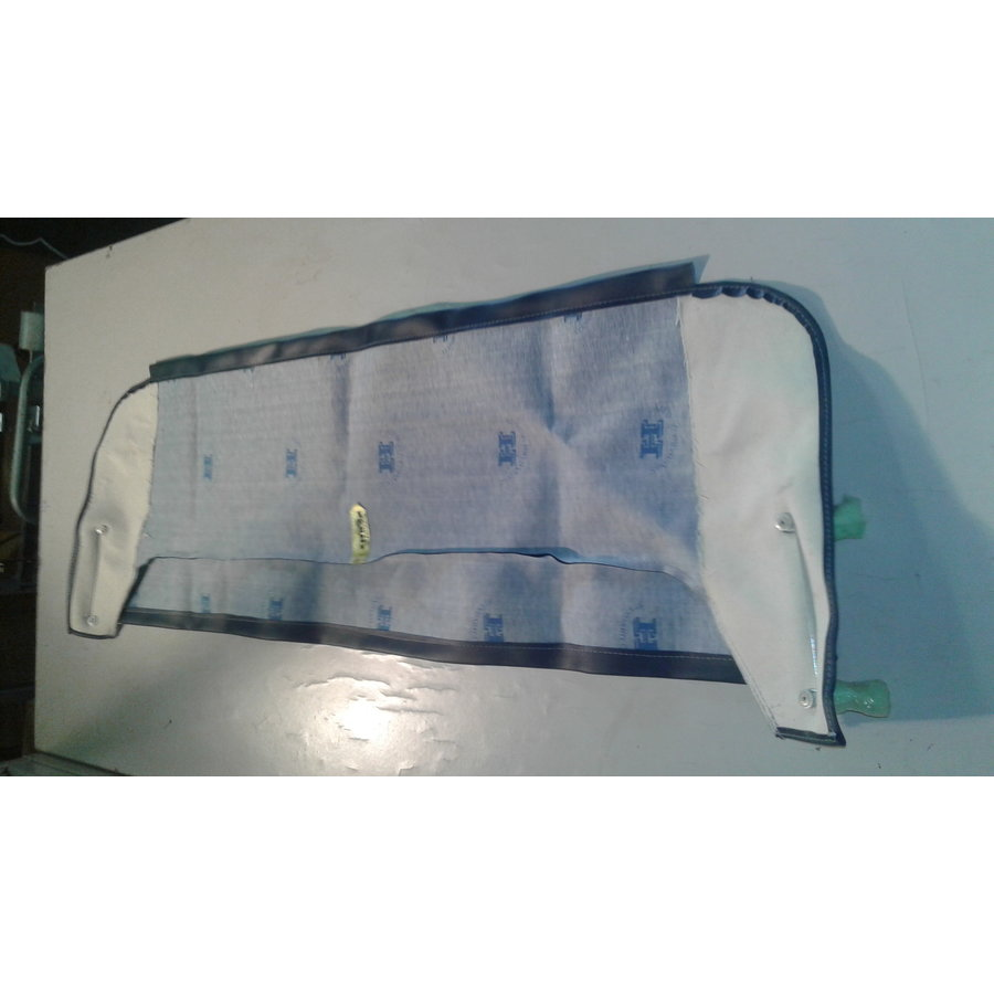 Trimming for rear window shelf (transat/france 3) blue leatherette Citroën 2CV-3