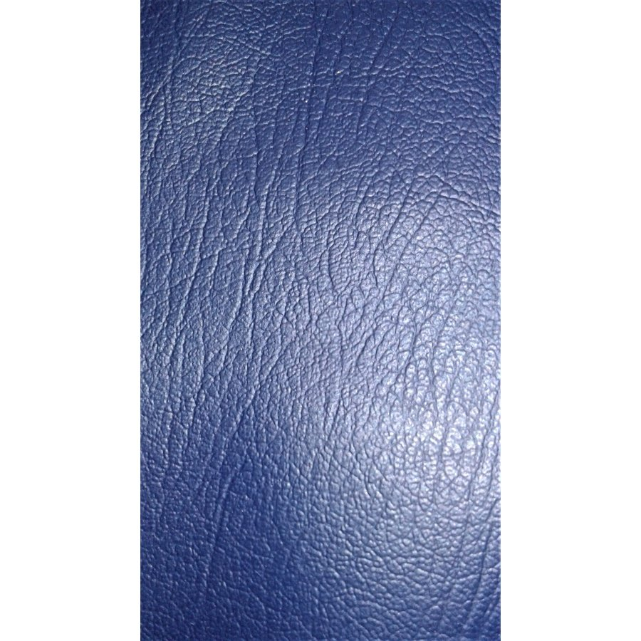 Garniture de tablette de lunette AR en simili bleu foncé (Transat/France 3) Citroën 2CV-7