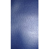 thumb-Trimming for rear window shelf (transat/france 3) blue leatherette Citroën 2CV-8