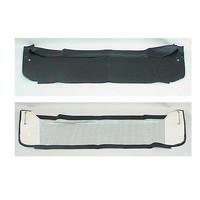 thumb-Garniture de tablette de lunette AR en simili noir Citroën 2CV-1