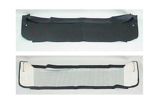 2CV Garniture de tablette de lunette AR en simili noir Citroën 2CV