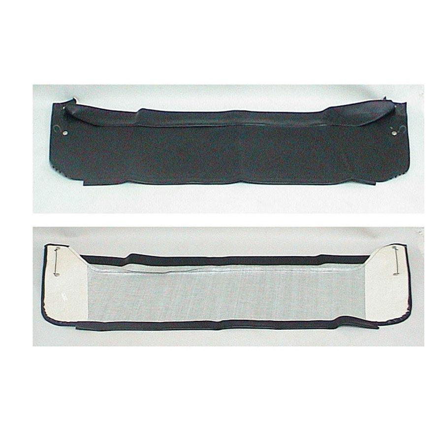 Garniture de tablette de lunette AR en simili noir Citroën 2CV-2