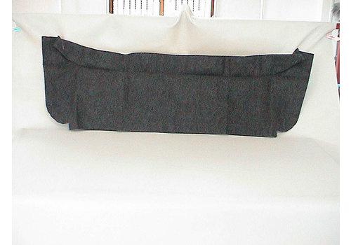2CV HutablagenverkleidungStoff-bezogen schwarz Citroën 2CV