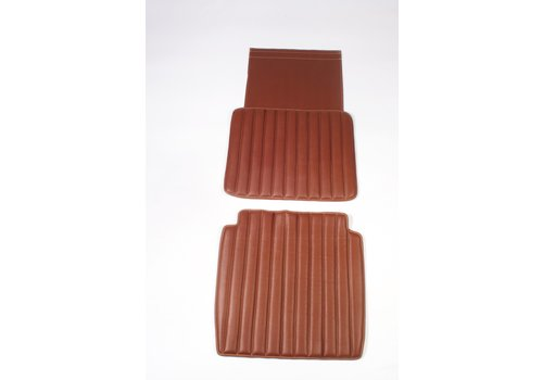 HY Original seat cover set for front seat in brown leatherette second model Citroën HY