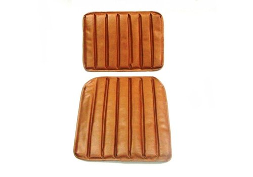 HY Original seat cover set for front seat in brown leatherette 1 st model Citroën HY