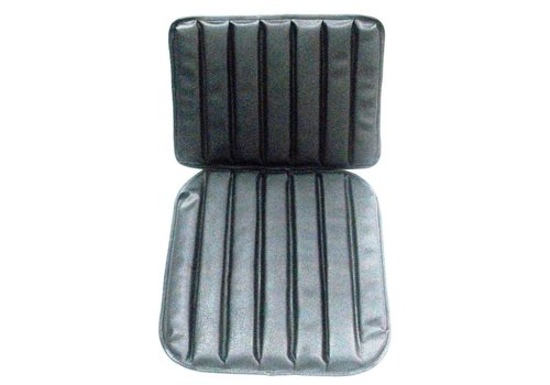 HY Original seat cover set for front seat in black leatherette 1 st model Citroën HY