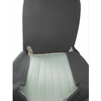 thumb-Original seat cover set for front seat in gray cloth (cool in the summer!) Citroën HY-1