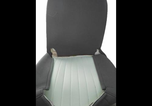 Housse d'origine pour siège en étoffe gris (frais en été!) Citroën HY