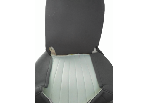 Original seat cover set for front seat in gray cloth (cool in the summer!) Citroën HY
