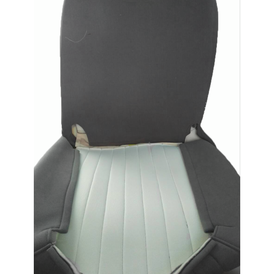 Original seat cover set for front seat in gray cloth (cool in the summer!) Citroën HY-1