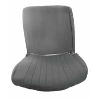 thumb-Original seat cover set for front seat in gray cloth (cool in the summer!) Citroën HY-3