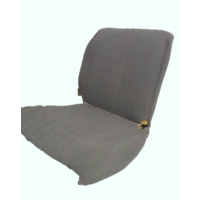 thumb-Original seat cover set for front seat in gray cloth (cool in the summer!) Citroën HY-4