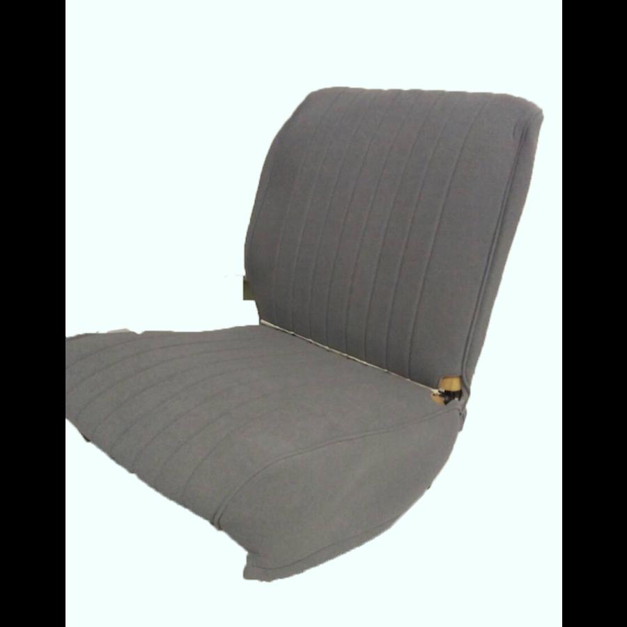 Hoes voorstoel grijs stof Citroën HY-4