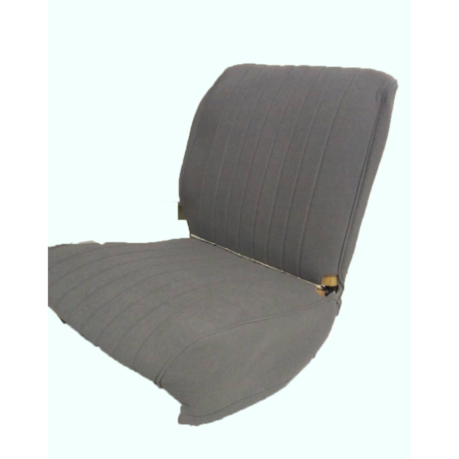 Original seat cover set for front seat in gray cloth (cool in the summer!) Citroën HY-4