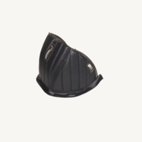 thumb-Sound proofing cover recovering the motor separation unit black leatherette row stiching Citroën HY-3
