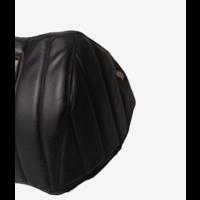 thumb-Motorkap bekleding zwart skai zwarte gestikte banen zonder kaartenbak Citroën HY-2