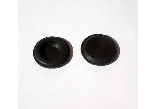 Round rubber plug for closing of hole to adjust window channel Citroën