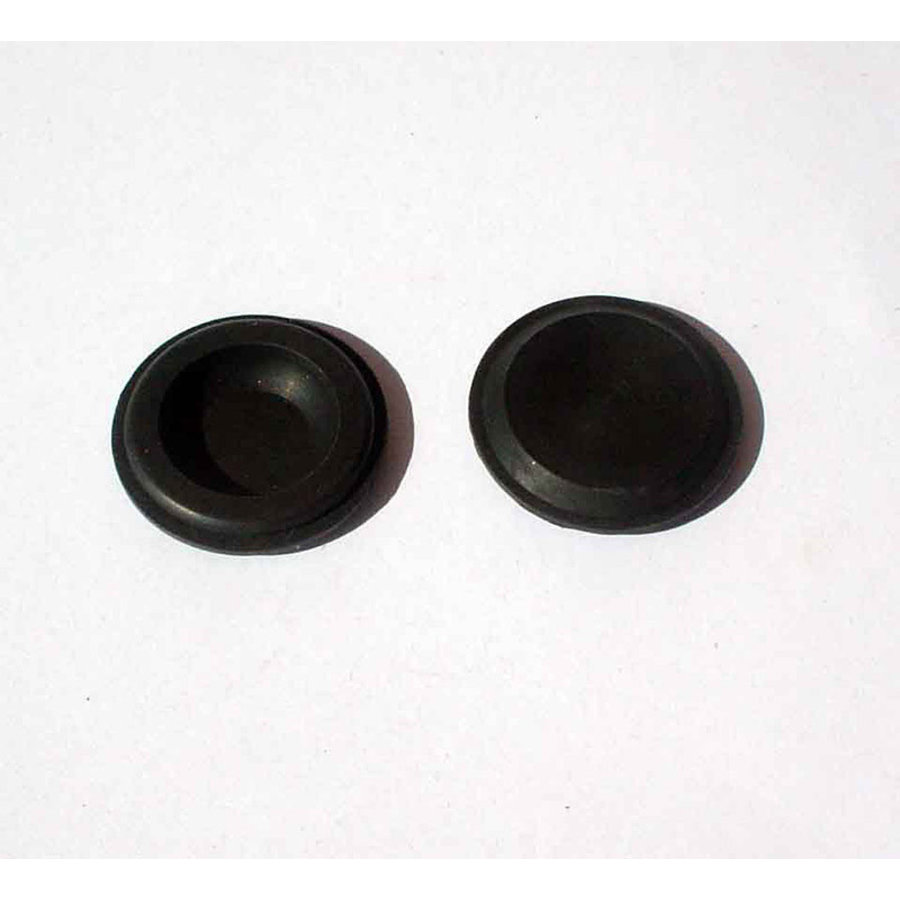 Round rubber plug for closing of hole to adjust window channel Citroën-1