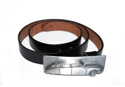Accessoire Leather belt buckle size 52