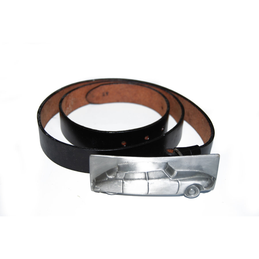 Leather belt buckle size 54-1