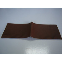 Cover made of dark brown leather for instruction manual (145 x 190) Citroën Accessoire